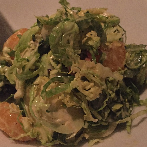Shaved Brussels Sprouts @ Traif