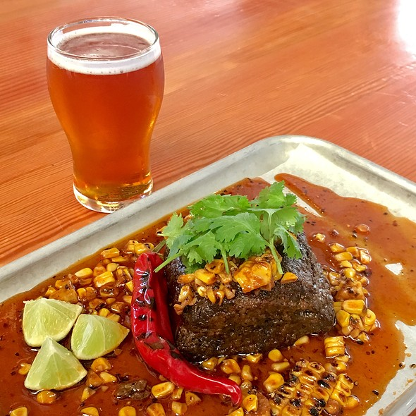 Slow Cooked Beef Brisket @ Little Creatures Brewery