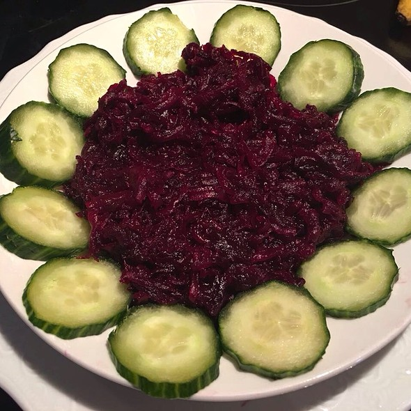 Boiled Beetroot and DIced Cucumber