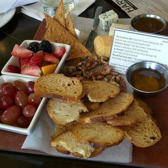 Local Farms Cheese Board @ Harvest Seasonal Grill & Wine Bar