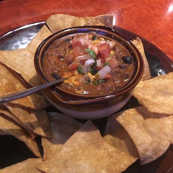 Chips And Chili Con Queso Dip @ Roundin 3rd Sports Bar & Grill