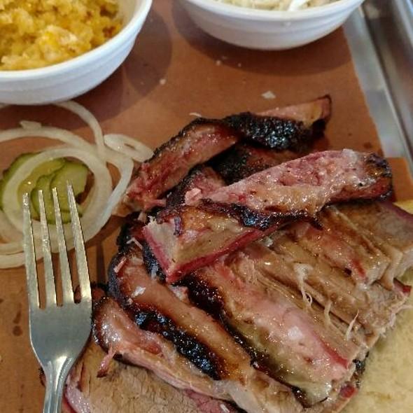 Brisket Platter @ Central City BBQ