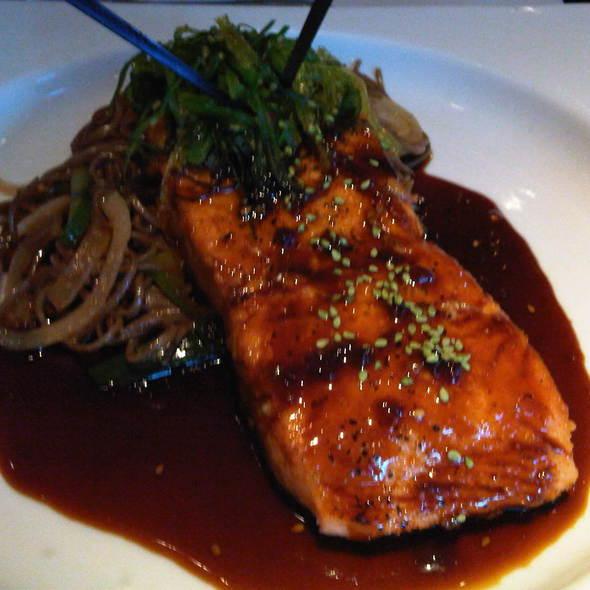 Teriyaki Salmon @ Adriana Restaurant