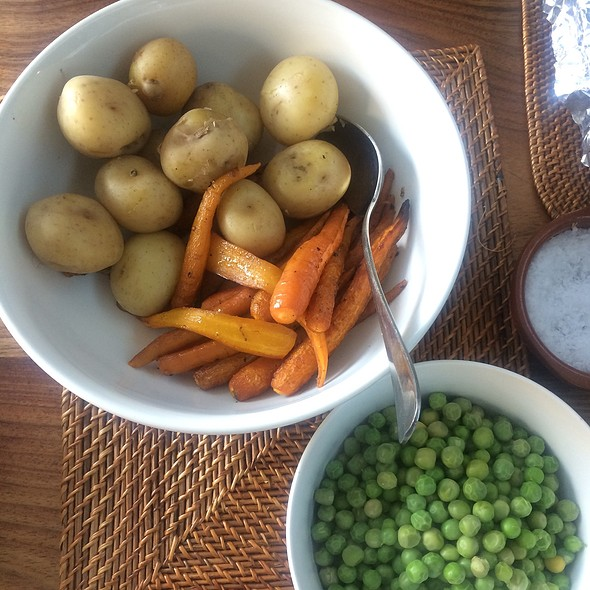 Side Veggies - Carrots, Potato, Peas