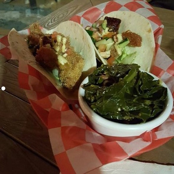 Fried Catfish Blt And Collard Greens