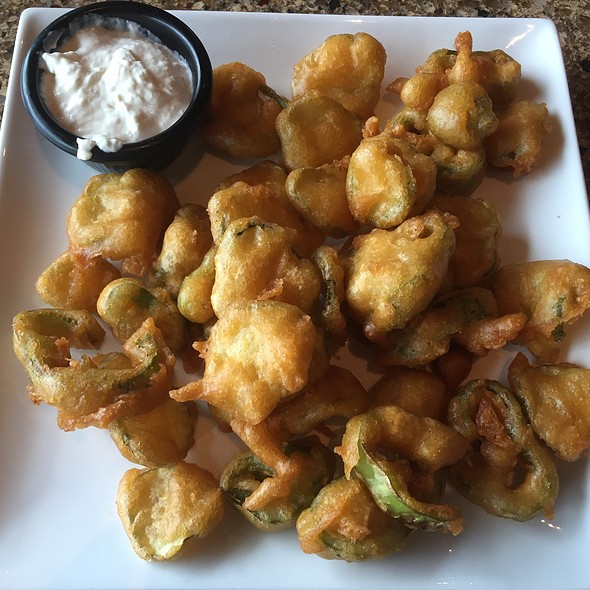 Fried Pickles And Anaheim Peppers