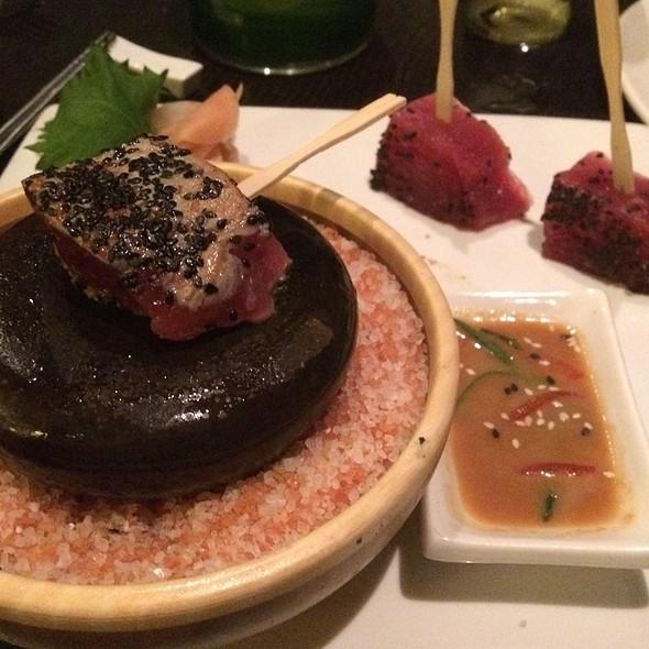 Ahi On The Rocks @ Ko Restaurant at the Fairmont