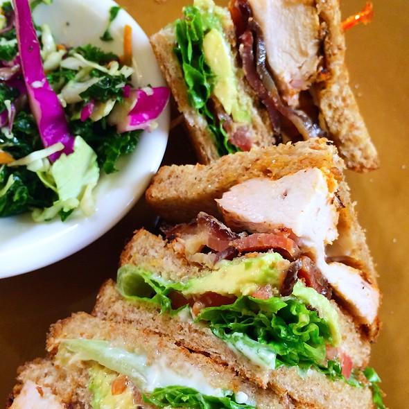 California Chicken Club Sandwich @ Urban Bistro