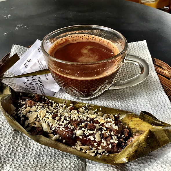 Suman And Tsokolate @ Seagull Coffee Shop