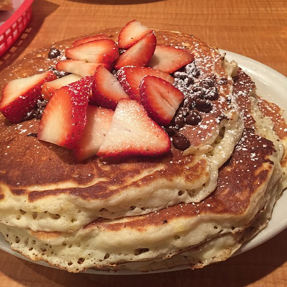 Chocolate Chip Pancakes @ Donut Hole Bakery Cafe