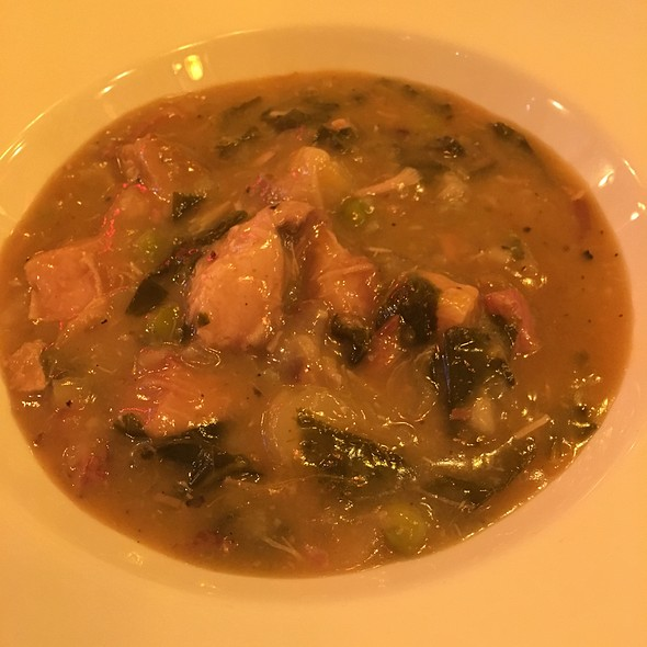 Pork Belly And Collard Greens Soup