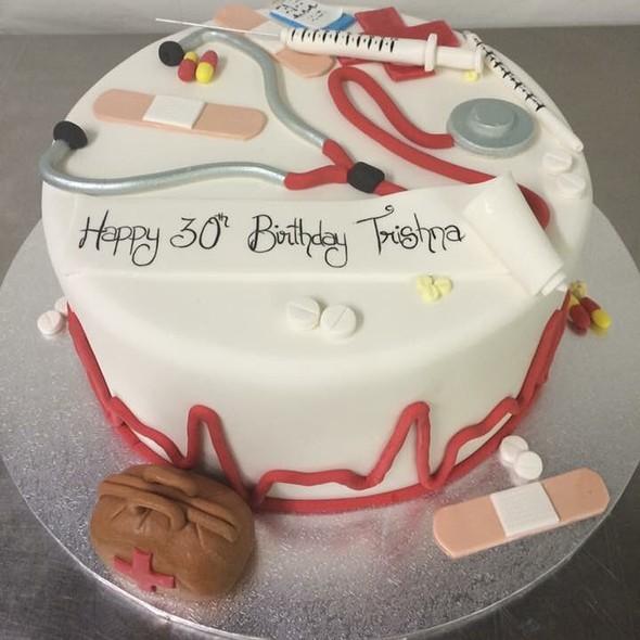 Nurse Birthday Cake @ Annettes Heavenly Cakes