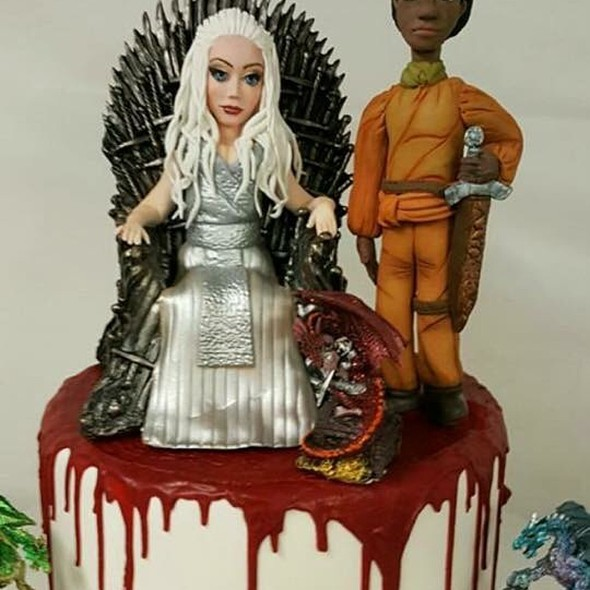 Game Of Thrones Birthday Cake @ Annettes Heavenly Cakes