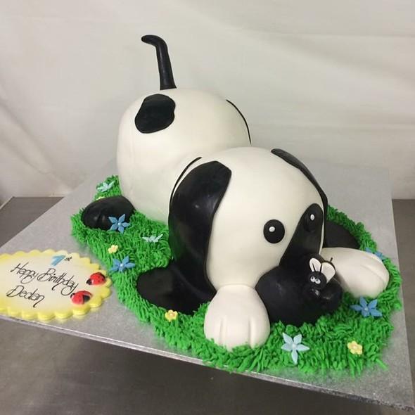 Dog Birthday Cake @ Annettes Heavenly Cakes