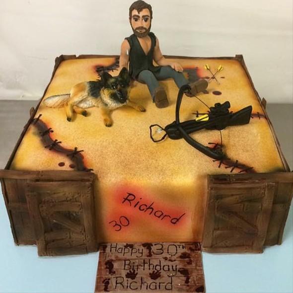 Walking Dead Birthday Cake @ Annettes Heavenly Cakes
