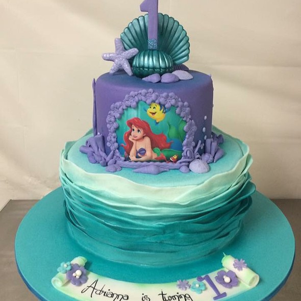 Ariel The Mermaid Cake @ Annettes Heavenly Cakes
