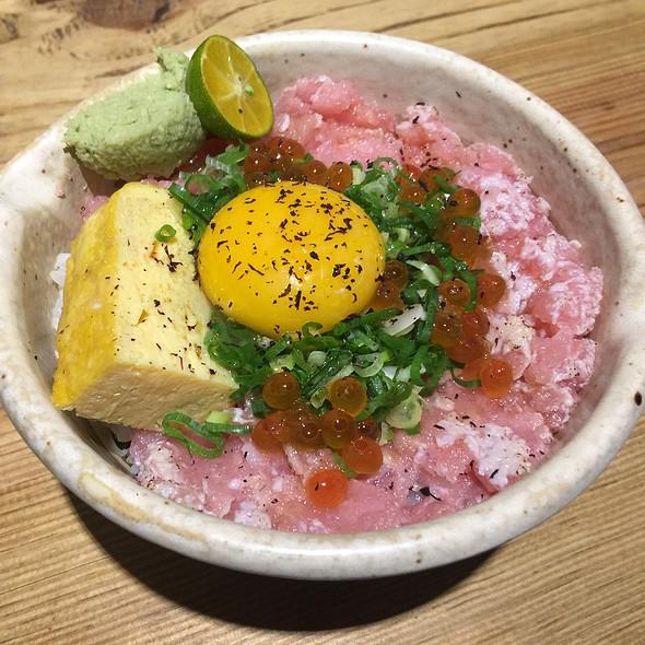 月見鮪魚丼 @ 瞞著爹丼飯(三店)