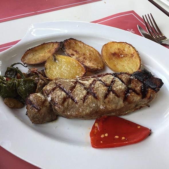 Entrecot De Ternera @ Sa Cova Restaurant