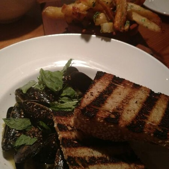 Mussels And Garlic Fries @ The Kitchen