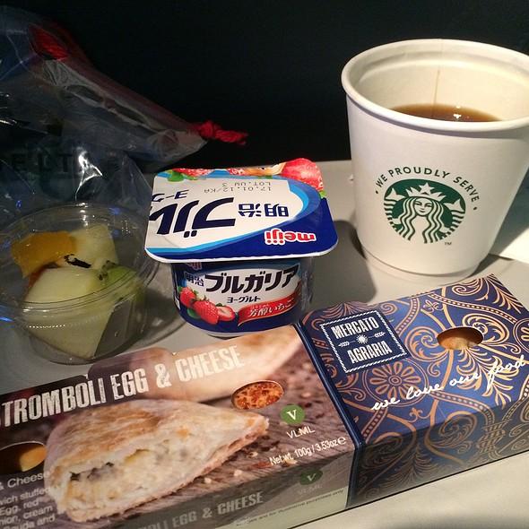 Breakfast Stromboli @ Delta Airlines (Haneda To Lax)