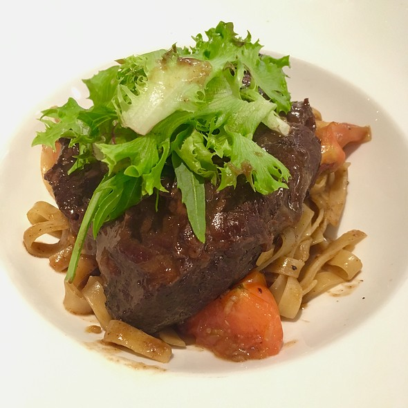 Braised Beef Cheek Pasta @ The French Table (@ West Coast Plaza)
