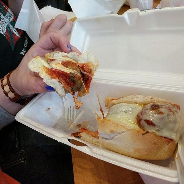 Marie's Meatball Hoagie @ Blues City Deli