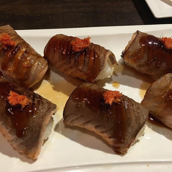 Fatty Salmon Belly Sushi @ nikkyu japanese restaurant