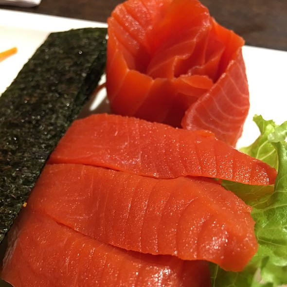Sockeye Salmon Sashimi @ nikkyu japanese restaurant