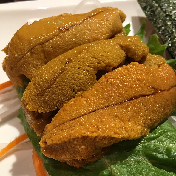 Uni Sashimi @ nikkyu japanese restaurant