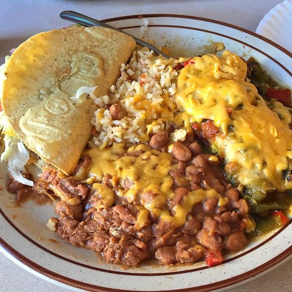 Mexican Combo Platter @ Frontier Restaurant