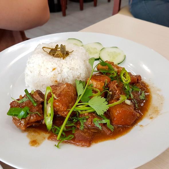 Lemongrass Pork Rice @ Trà Vinh Authentic Vietnamese Noodles