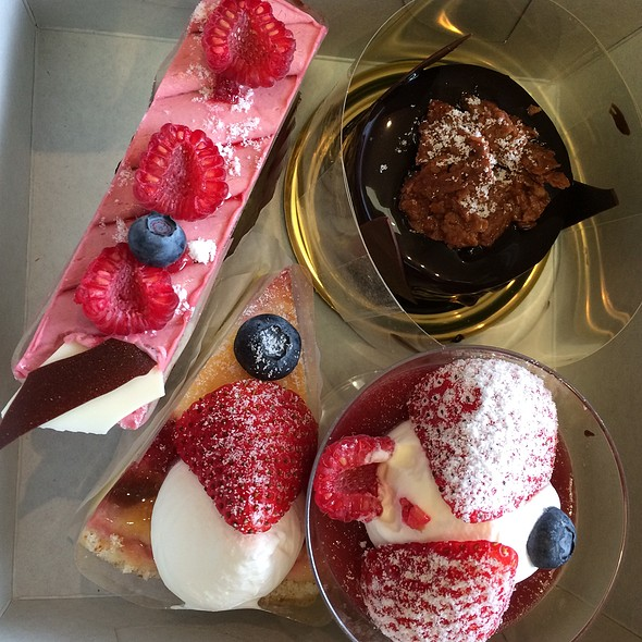 Assorted Desserts @ Patisserie La Palme D'Or