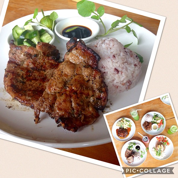 Grilled Pork Chop With Rosemary @ Cafe Sabel