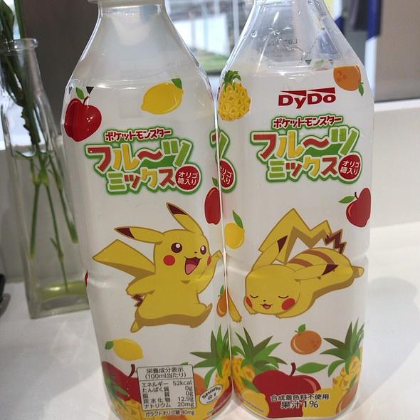 Pokemon Mixed Fruit Juice Drink
