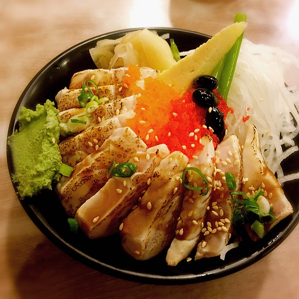 炙燒旗魚蓋飯 @ 金鮨日式料理
