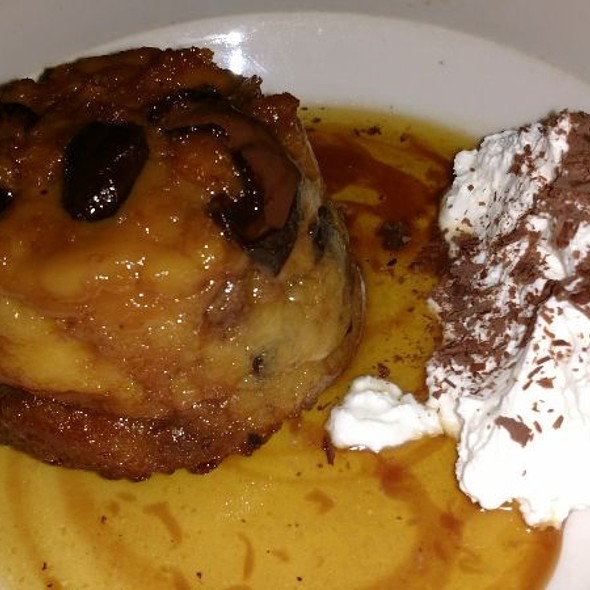 Bread Pudding With White Chocolate And Caramel