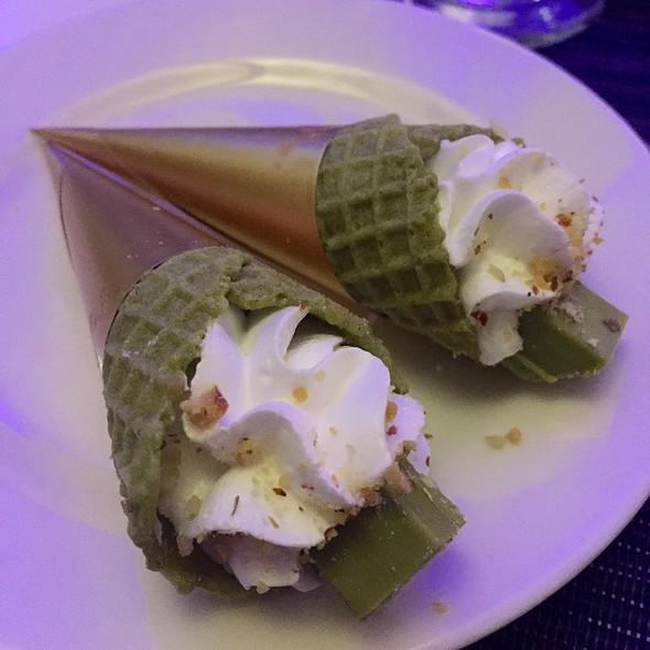 Matcha Mousse In Green Tea Cone @ Park Inn by Radisson Davao