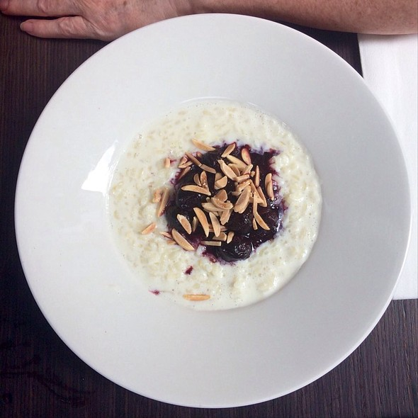 Rice Pudding And Fruit