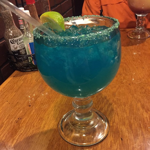 Blue Margarita @ Agave Loco Mexican Grill
