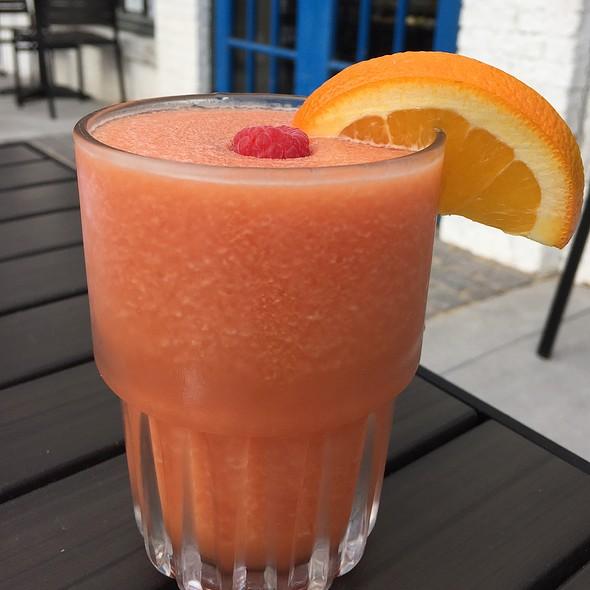 Blood Orange Frozen Mimosa