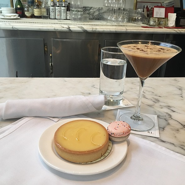 lemon tart @ Bottega Louie Restaurant and Gourmet Market