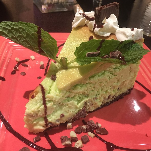 Andes Mint Cheesecake
