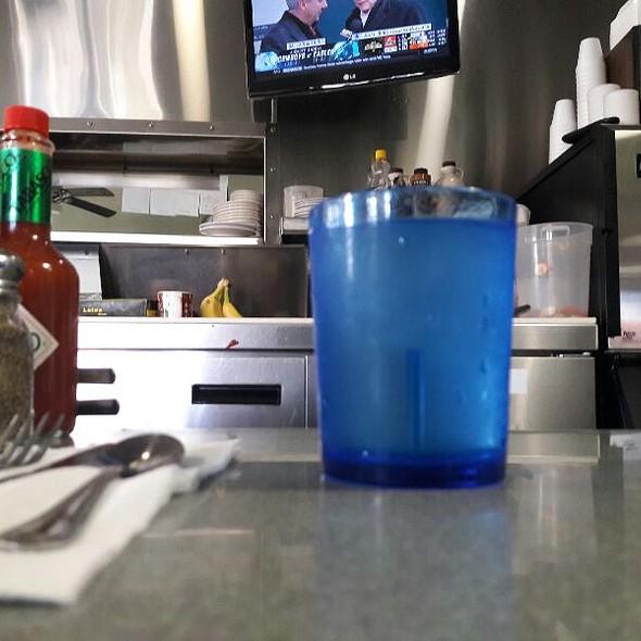 Water @ Omelette & Waffle Shop