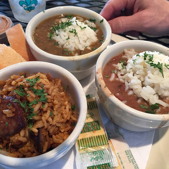 New Orleans Sampler At The Gazebo Cafe