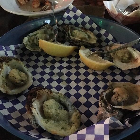 Charbroiled Oysters @ Mrb