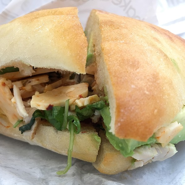 Chicken Avacado Sandwich @ Au Bon Pain