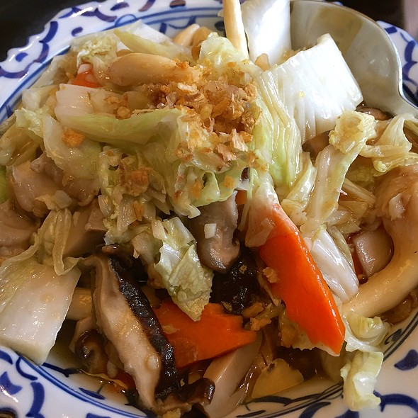 Stir-fried Mixed Vegetables @ Thonglor Thai Cuisine @ Ang Mo Kio Central