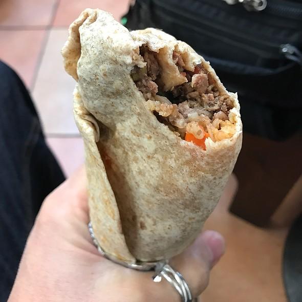 Carne Asada Burrito @ Pancho Villa Taqueria