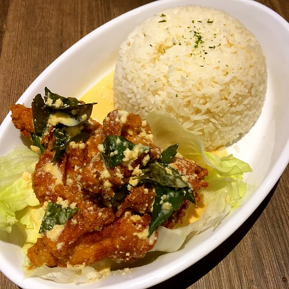 Thai Basil Chicken With Rice @ Three by Table Concepts @ Seletar Mall