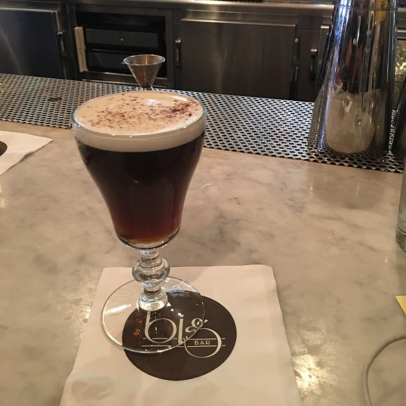 Irish Coffee @ Alcove Cafe & Bakery